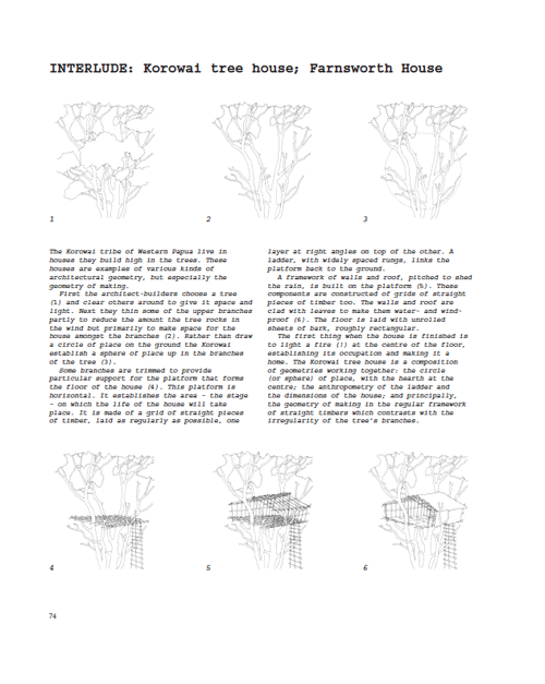 Exercises in Architecture sample page